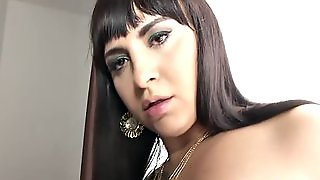 Busty Transvestite Behind The Scenes