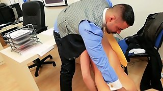 Muscle Agent Anal Sex And Cumshot