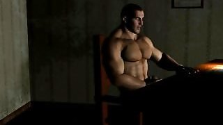 Animation, Body Builder, Bodybuilder Gay, Growth, Muscle Growth, Gay Animation, Gaymuscle, Morph