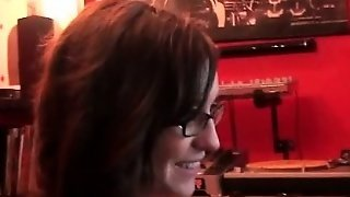 Girl In Glasses Sucking Hard Cock In Pov Style