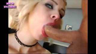 Hot Blonde Hardcore Deepthroat