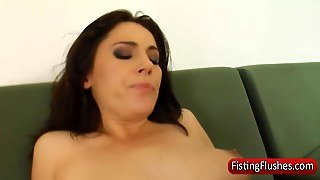 Stockings Lesbo Pussy Fisted In Hd