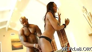 Interracial, Ebony, Hardcore, Blowjob