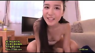 Skinny Asian Teen Kina Kai Hardcore Pov