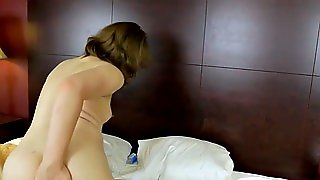 Femboy Amateur Jerking In Bedroom
