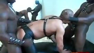 Black Guys In Leather