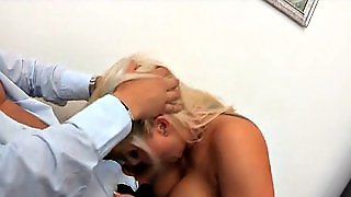 Fucking Her Face At Work