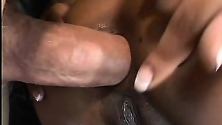 Tight Ebony Hooker In A Corset Gets Her Ass Stuffed By White Cock