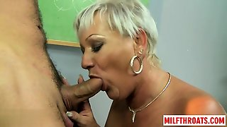 Blowjob, Mature, Doggystyle, Granny, Old Young