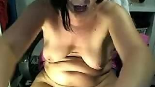 Bbw, Girl, Caught Masturbation