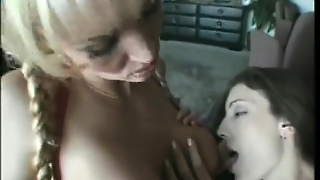 Sultry Babes Tanya Danielle And Brandi Lyons Making Sweet Lesbian Love