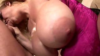 Blonde Hooker With Massive Boobs