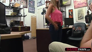 Hot Layla London Gets Fucked Int He Pawnshop For Money