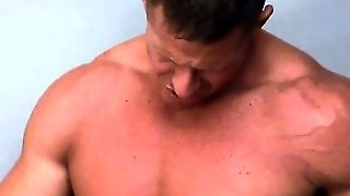 Muscle Hunk Sucked And Rimmed