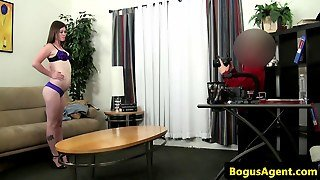 Office Amateur Cocksucking At Casting