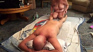 Wife Giving A Great Massage