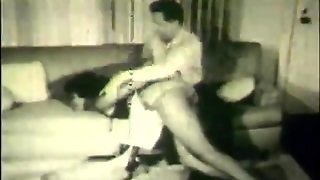 Lucky Dude Fucks Women In Orgy (1960S Vintage)