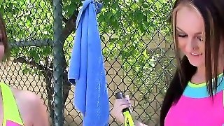 Tennis Lessons Followed By Sex Lessons