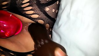 Close Up Toying My Hairy Pussy And Cumming