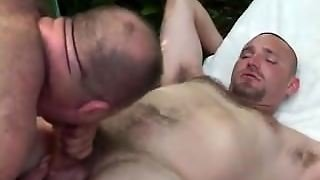 Daddy, Anal, Gay, Hairy, Bear, Bearboxxx, Outdoor Sex, Muscles