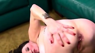 Dirty Granny Slut Does Anal