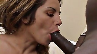 Big Tits Fucked By A Black Cock