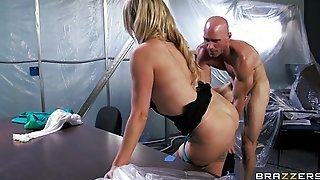 Nikki Benz Is Frisked And Fingered