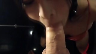 Ladyboy Amy Gives A Blowjob