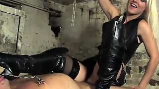 Smoking Mistress Dominates Sub With Smoking
