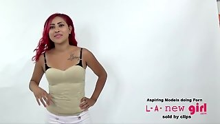 Latina Fucked In The Ass For A Job