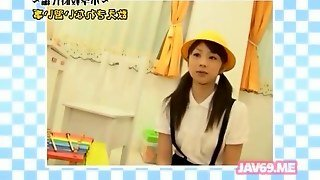 Adorable Horny Japanese Girl Having Sex Feature 2