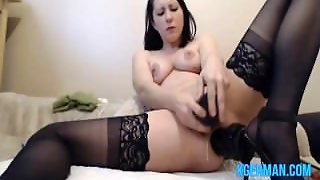German Hot Milf Squirting