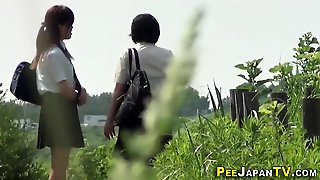 Bad Japan Teenagers Pee