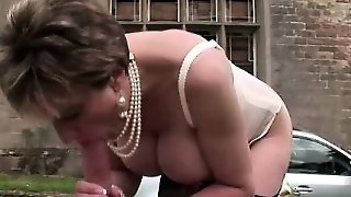 Lady Sonia Gets Banged Outdoors
