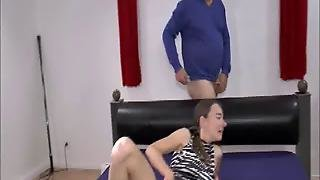 Double Fist And Cock Penetrated Teen Slut