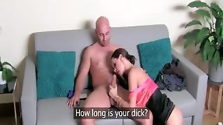 Strong Bald Guy Is Licking His Female Part4