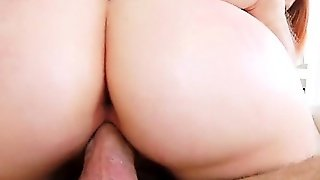 Busty Red Haired Teen Girl Rainia Belle Loves Big Shaft