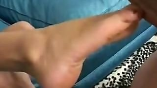 Sativa Rose Footjob