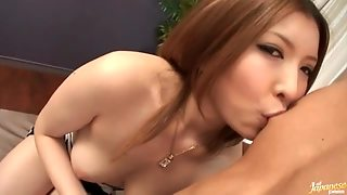 Japanese Girl Blowjob Is Artful
