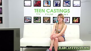 Teen Gets Tied And Fingered