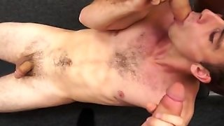 Hot Amateur Threesome With Facial