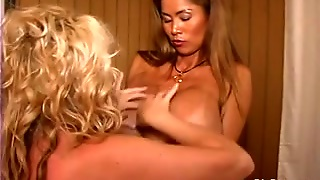 Giant Pantoons Lesbo Women Licking Teats And Squizing