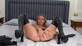 Cherry Jul Is A Small Titted European Cutie In High