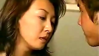 Japanese Mom And Son's Friend 8