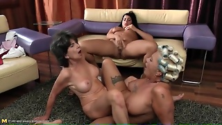 Ass Licking Lesbian Trio With Talented Tongues Working