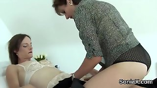 Unfaithful British Milf Lady Sonia Exposes Her Monster Tits