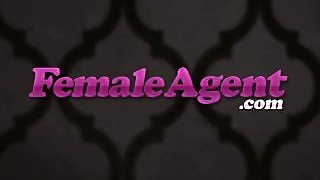 Femaleagent. No Money Shot Means No Money
