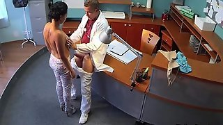 Doctor Cums On Spanked And Fucked Ass