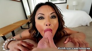 Kaylani Lei & Jonni Darkko In Sperm Diet Movie