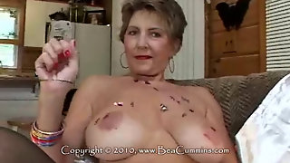 Bea Cummins Getting Naughty With Balloons